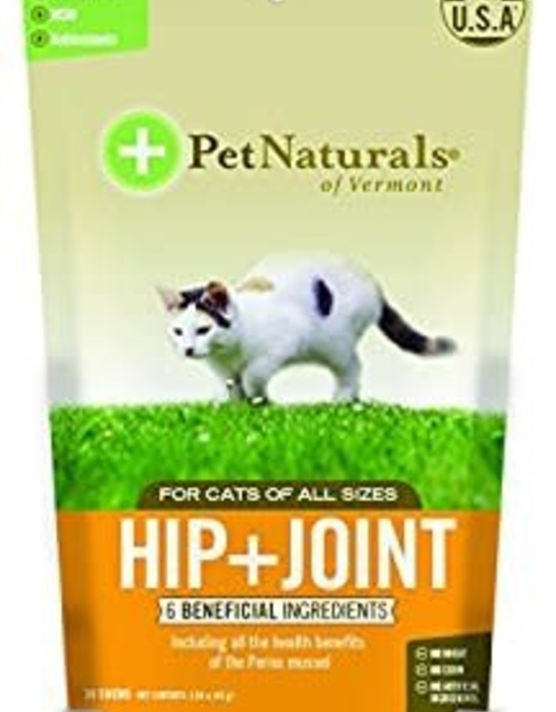 Pet Naturals of Vermont PetNaturals Hip + Joint Cat Supplement Chews 30ct