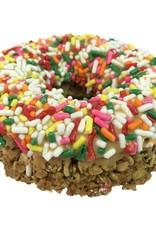 K9 Granola Factory K9 Granola Factory Gourmet Granola Donut Peanut Butter w/ Jimmies Dog Treat