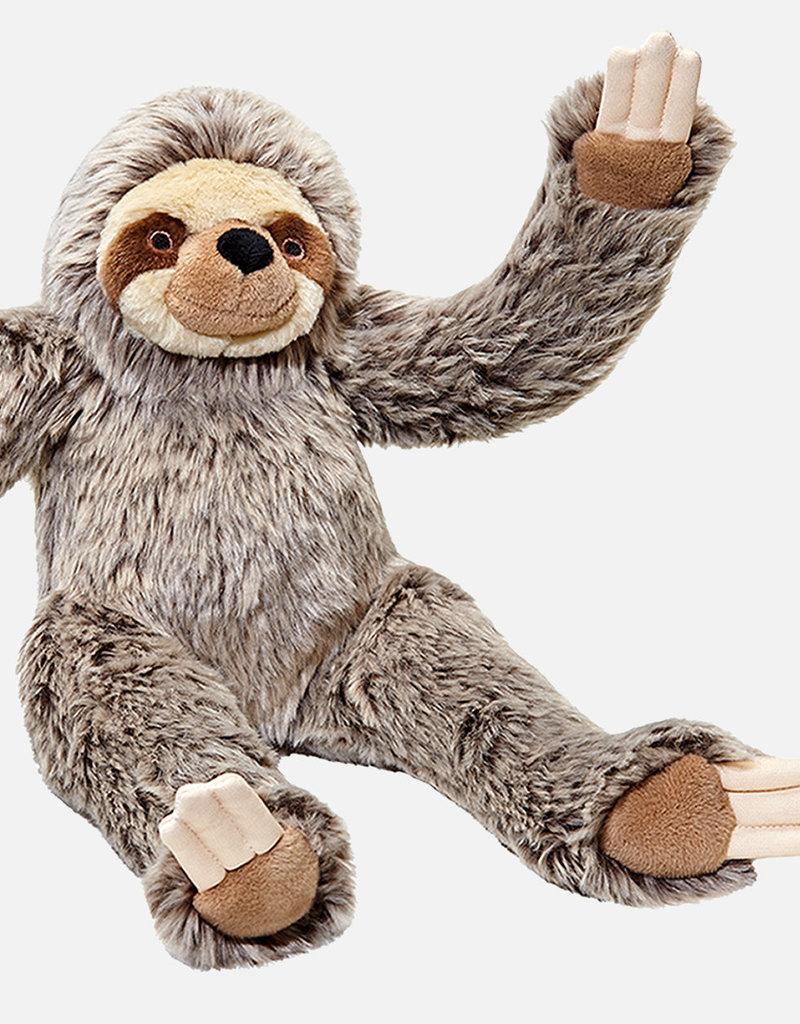 """Fluff & Tuff Fluff & Tuff Tico Sloth Dog Plush Toy 15"""""""