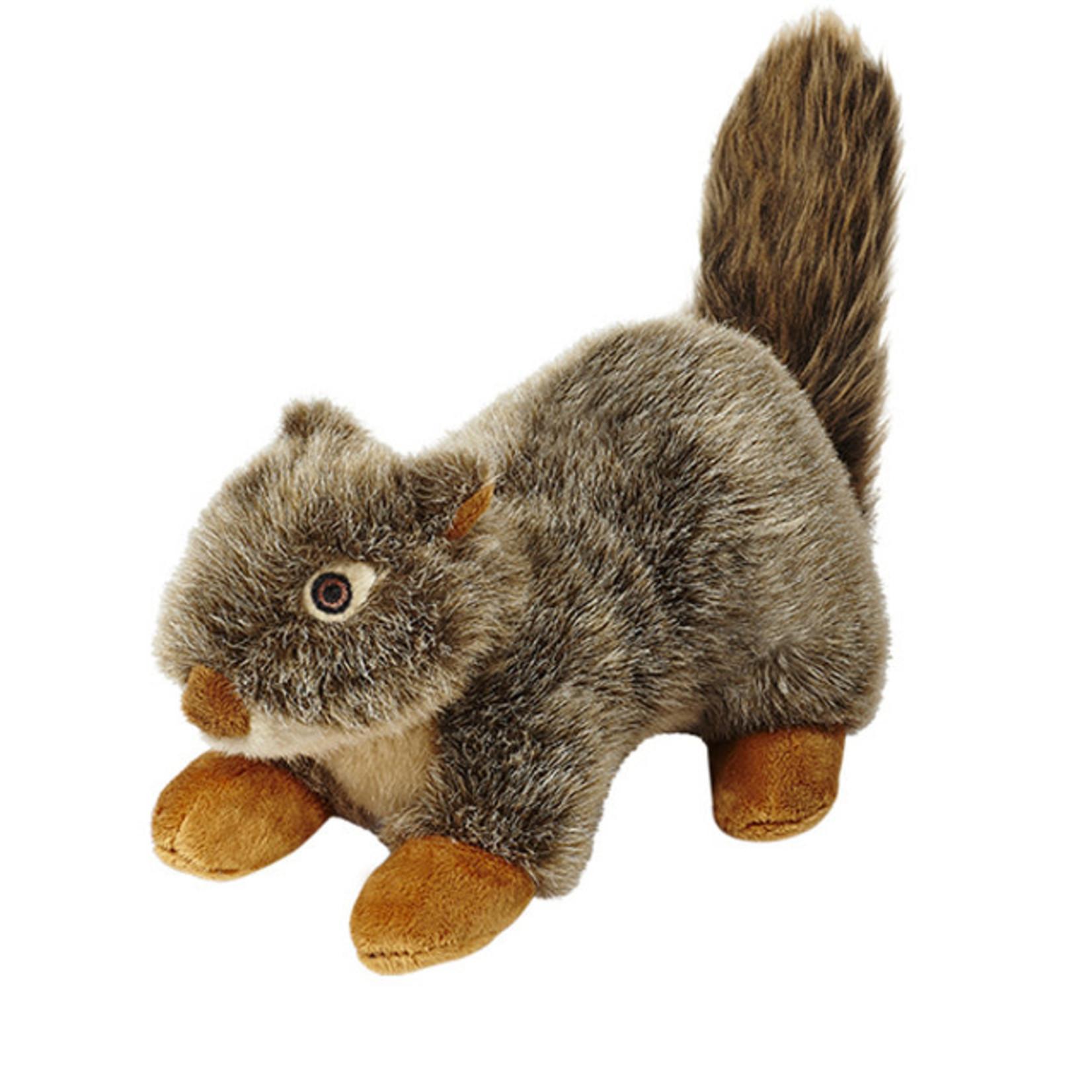 """Fluff & Tuff Fluff & Tuff Nuts Squirrel Dog Plush Toy 12"""""""