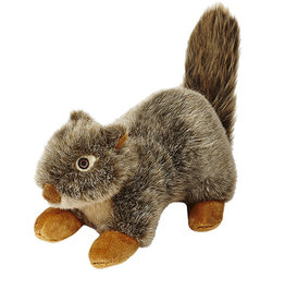 Fluff & Tuff Fluff & Tuff Nuts Squirrel Dog Plush Toy 12""