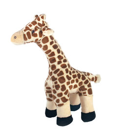 Fluff & Tuff Fluff & Tuff Nelly Giraffe Dog Plush Toy 13""