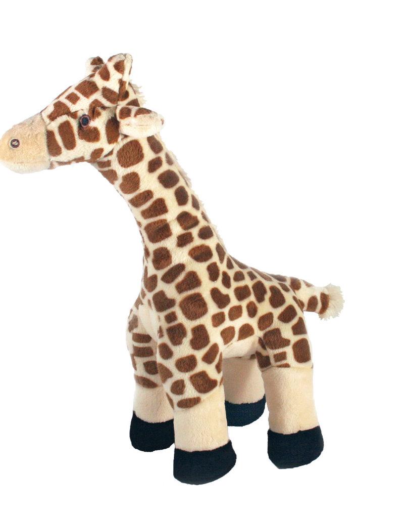 """Fluff & Tuff Fluff & Tuff Nelly Giraffe Dog Plush Toy 13"""""""