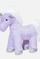 "Fluff & Tuff Fluff & Tuff Violet Unicorn Dog Plush Toy 9"""