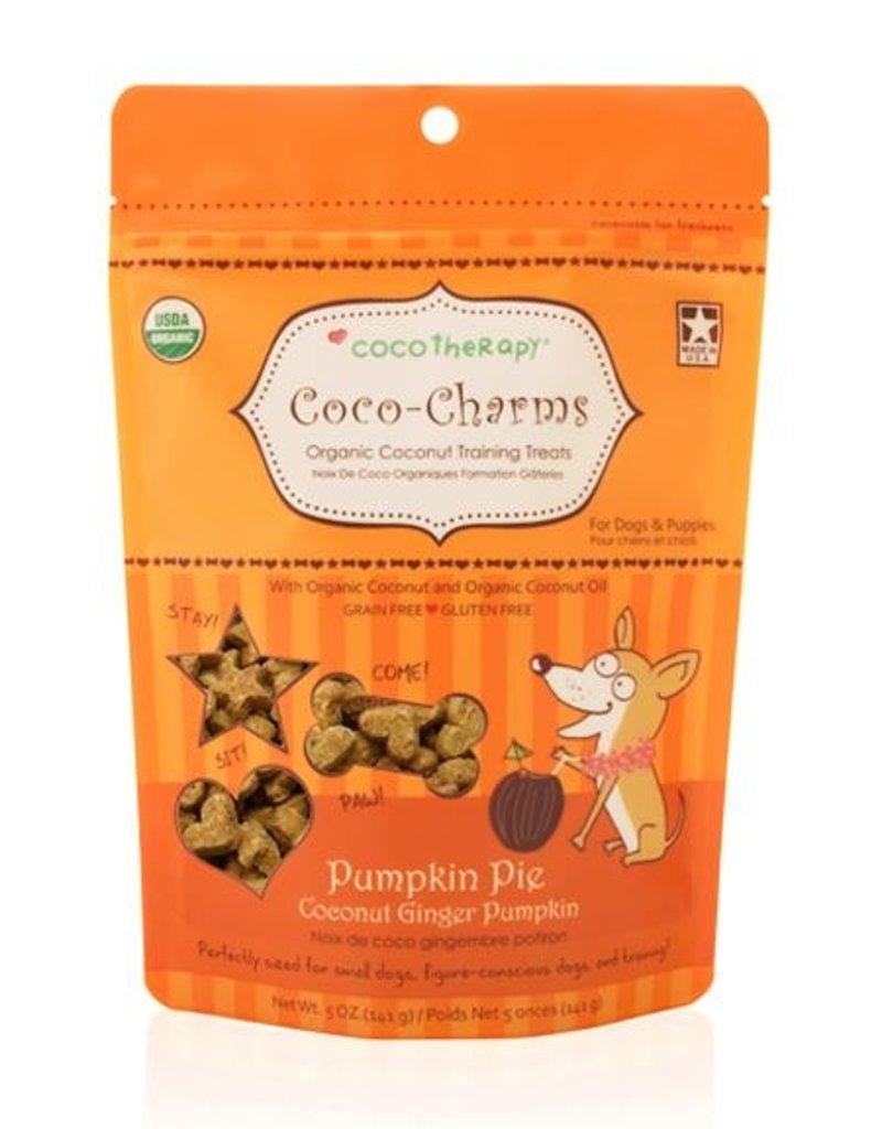 CocoTherapy CocoTherapy CocoCharms Pumpkin Pie Dog Treats 5oz
