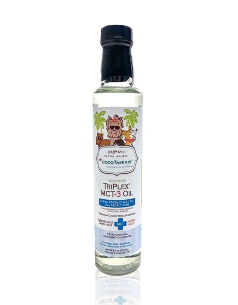 CocoTherapy CocoTherapy TriPlex MCT-3 Oil 8oz