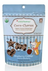 CocoTherapy CocoTherapy Coco-Charms Blueberry Cobbler Dog Treats 5oz