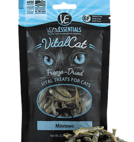 Vital Essentials Vital Essentials Freeze Dried Minnows Cat Treats 0.5oz