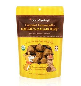 CocoTherapy CocoTherapy Maggie's Macaroons Lemoncello Dog Treats 4oz