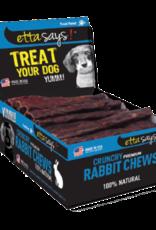 "Etta Says Etta Says! Rabbit Crunchy Dog Chew 4.5"""