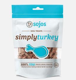 Sojos SOJOS Simply Turkey Dog Treats 4oz