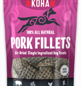 Koha KOHA Air-Dried Pork Filet Dog Treats 4oz