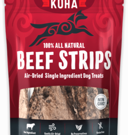 Koha KOHA Air-Dried Beef Strips Dog Treats 3.25oz