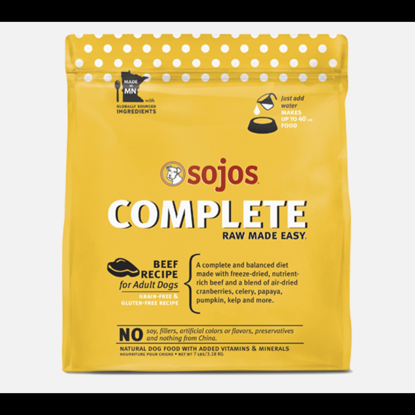Sojos SOJOS Complete Beef Dog Food