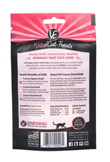 Vital Essentials Vital Essentials Freeze Dried Chicken Hearts Cat Treats 0.8oz