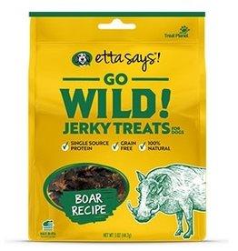 Etta Says Etta Says! Go Wild Boar Dog Jerky Treats 5oz