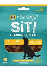 Etta Says Etta Says! Sit Peanut Butter Dog Training Treats 6oz