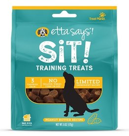 Etta Says Etta Says! Sit Peanut Butter Dog Training Treats 6oz