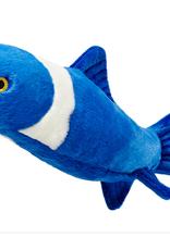 """Fluff & Tuff Fluff & Tuff Gil Koi Fish Dog Plush Toy 20"""""""
