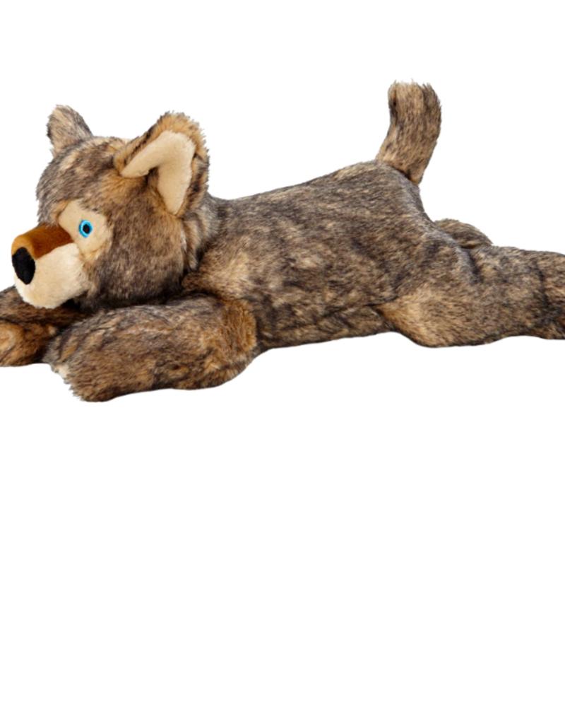 "Fluff & Tuff Fluff & Tuff Lobo Wolf Pup Dog Plush Toy 20"""