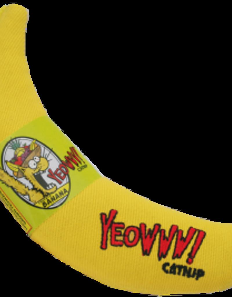 Yeowww YEOWWW Catnip Banana Cat Toy