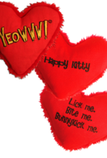 Yeowww YEOWWW Catnip Heart Attack Happy Cat Toy