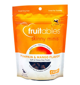 Fruitables Fruitables Skinny Minis Pumpkin and Mango Dog Treats 5oz