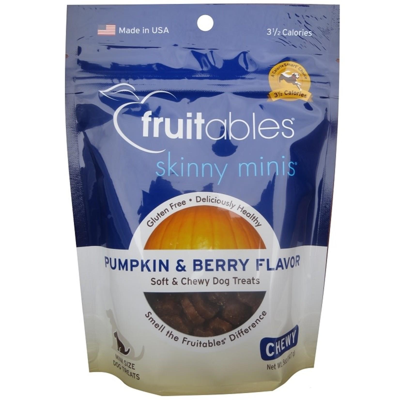 Fruitables Fruitables Skinny Minis Pumpkin and Berry Dog Treats 5oz