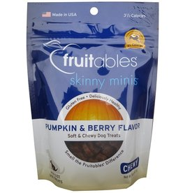 Fruitables Fruitables Skinny Minis Pumpkin and Berry Dog Treats 5oz