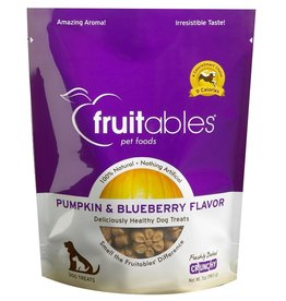 Fruitables Fruitables Pumpkin and Blueberry Dog Treats 7oz
