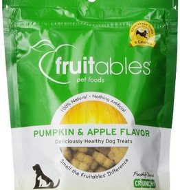 Fruitables Fruitables Pumpkin and Apple Dog Treats 7oz