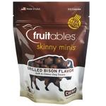 Fruitables Fruitables Skinny Minis Grilled Bison Dog Treats 5oz