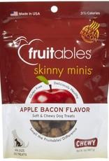 Fruitables Fruitables Skinny Minis  Apple Bacon Minis Dog Treats 5oz