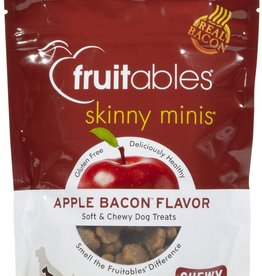 Fruitables Fruitables Skinny Minis  Apple Bacon Minis Dog Treats 5oz