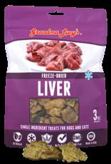 Grandma Lucy's Grandma Lucy's Freeze Dried Liver Treats 3oz