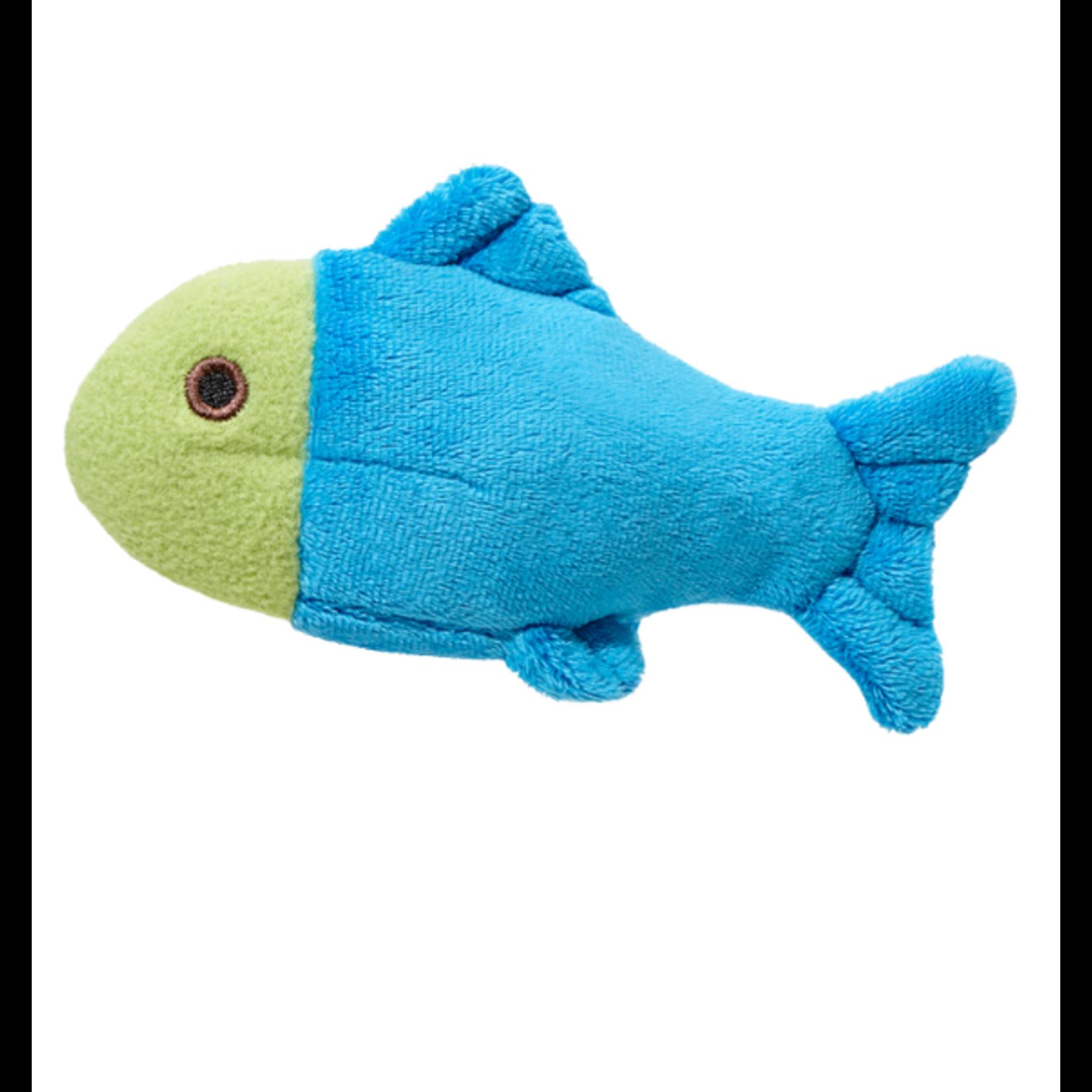 """Fluff & Tuff Fluff & Tuff Molly Fish Dog Plush Toy 4"""""""