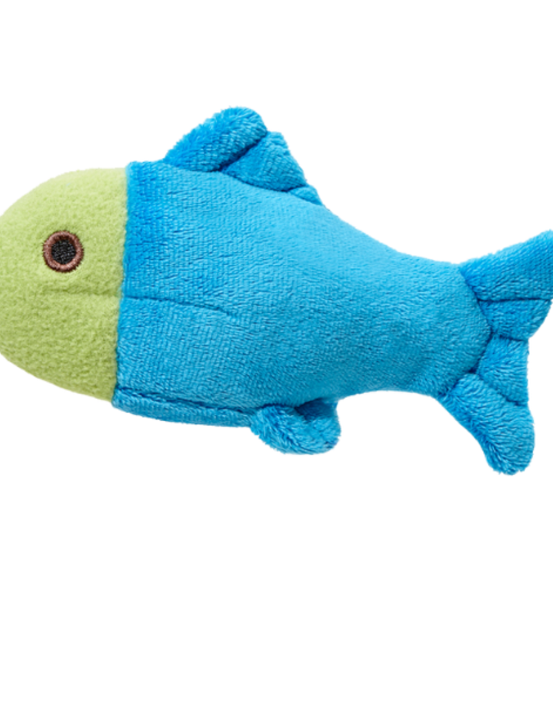 Fluff & Tuff Fluff & Tuff Molly Fish Dog Plush Toy 4""