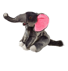 Fluff & Tuff Fluff & Tuff Edsel Elephant Dog Plush Toy 11""