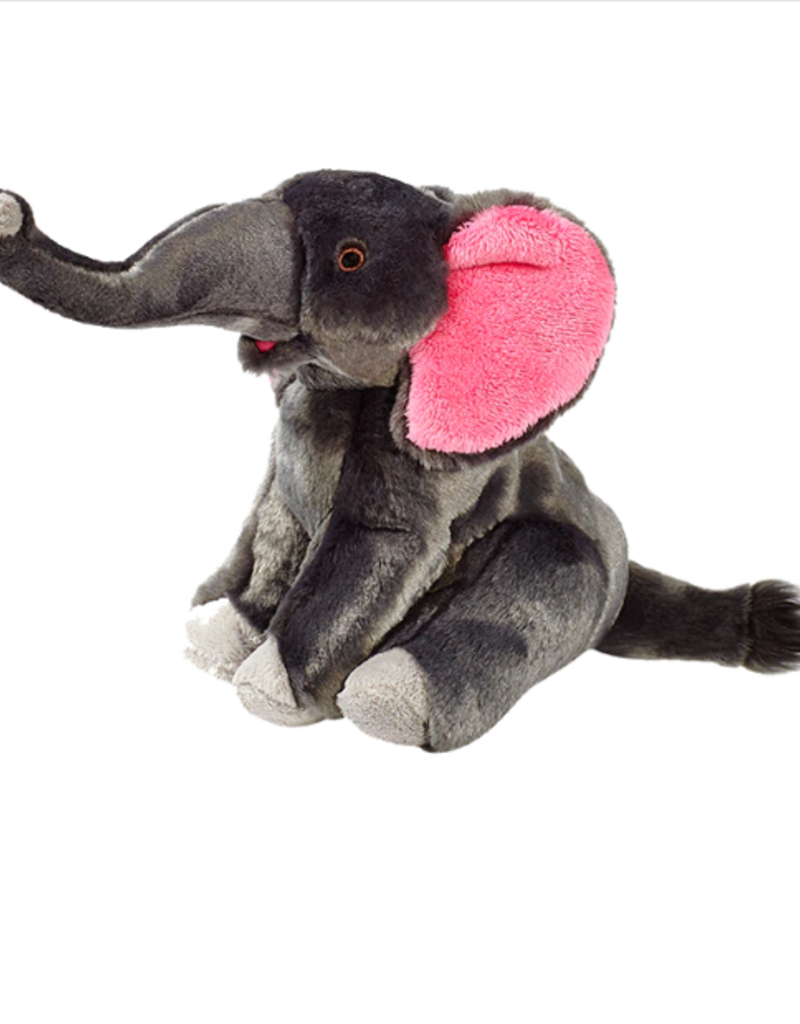 "Fluff & Tuff Fluff & Tuff Edsel Elephant Dog Plush Toy 11"""