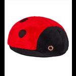 """Fluff & Tuff Fluff & Tuff Lady Bug Dog Plush Toy 4.5"""""""