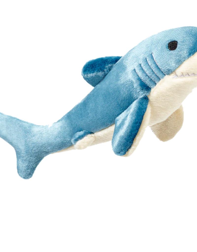 "Fluff & Tuff Fluff & Tuff Tank the Shark Dog Plush Toy 12"""