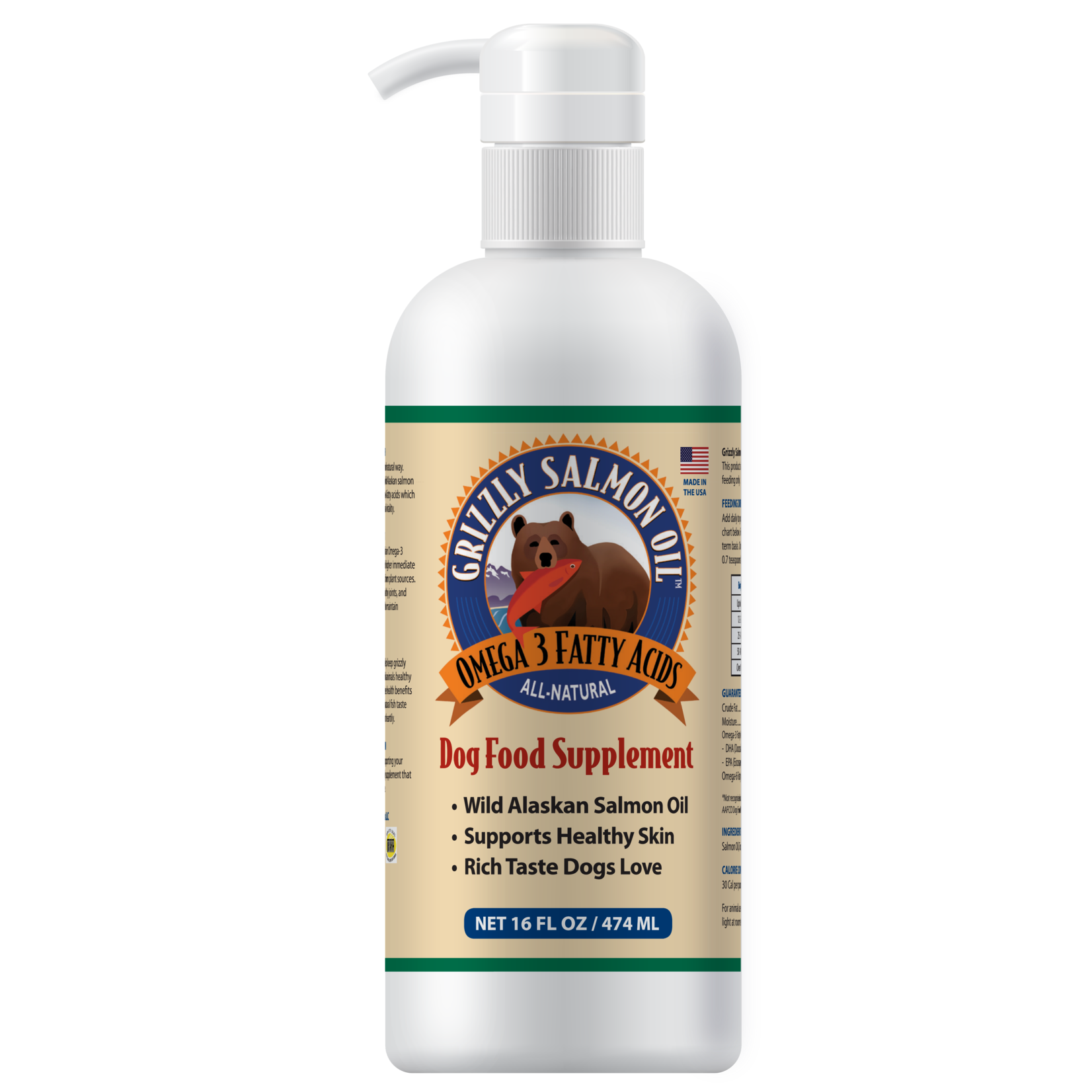 Grizzly Grizzly Salmon Oil
