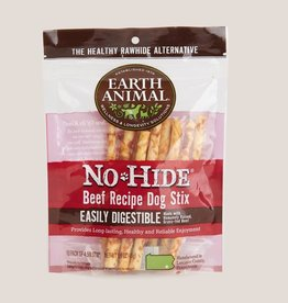 Earth Animal Earth Animal No-Hide Beef Stix Chews 10pk