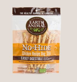 Earth Animal Earth Animal No-Hide Chicken Stix Chews 10pk