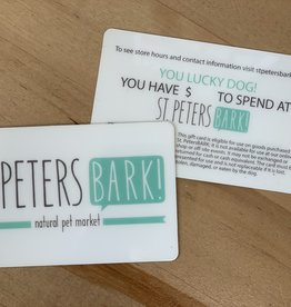 St PetersBARK! Gift Card