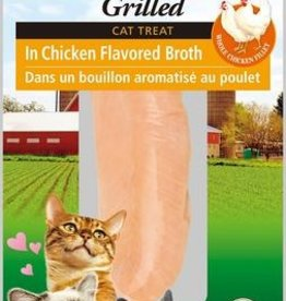 Ciao Ciao Grilled Chicken in Chicken Broth Cat Fillet Treat 25g