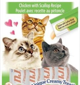 Ciao Ciao Churu Chicken with Scallop Cat Puree Treat 2oz