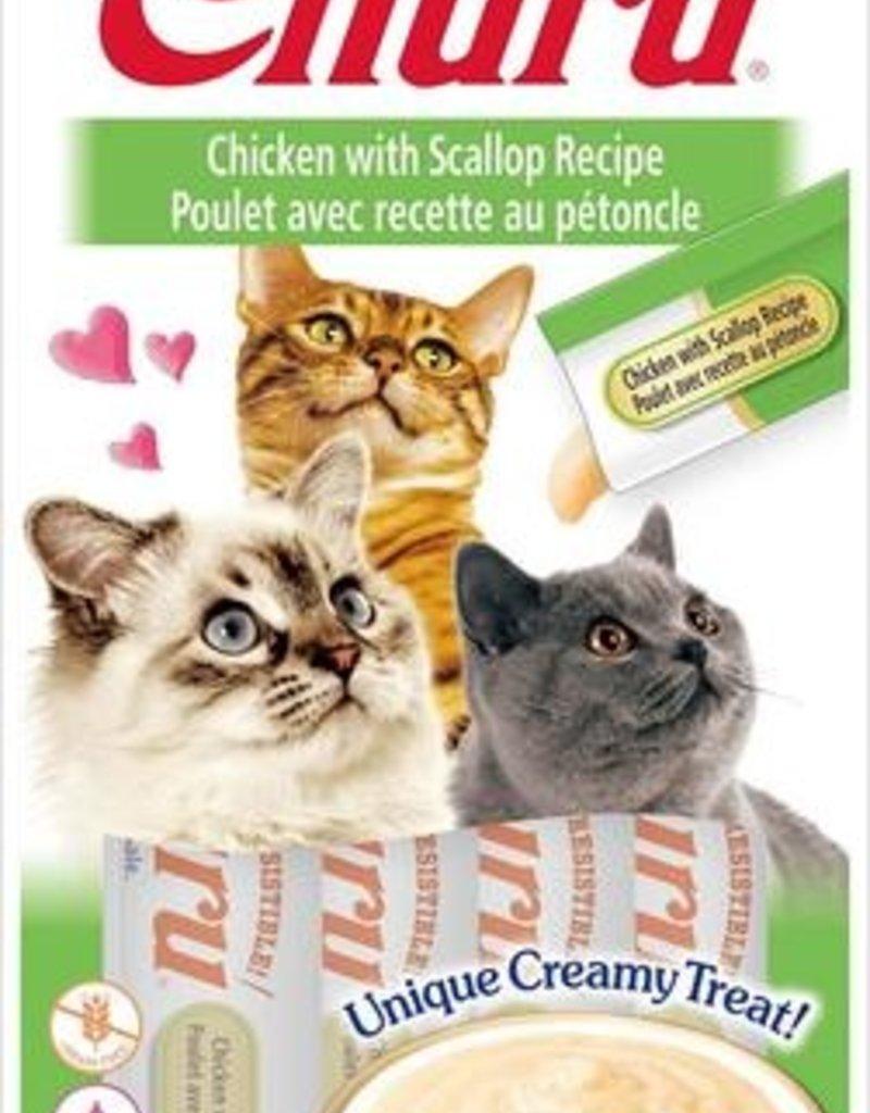 Ciao Ciao Churu Chicken with Scallop Cat Puree Treat 2oz