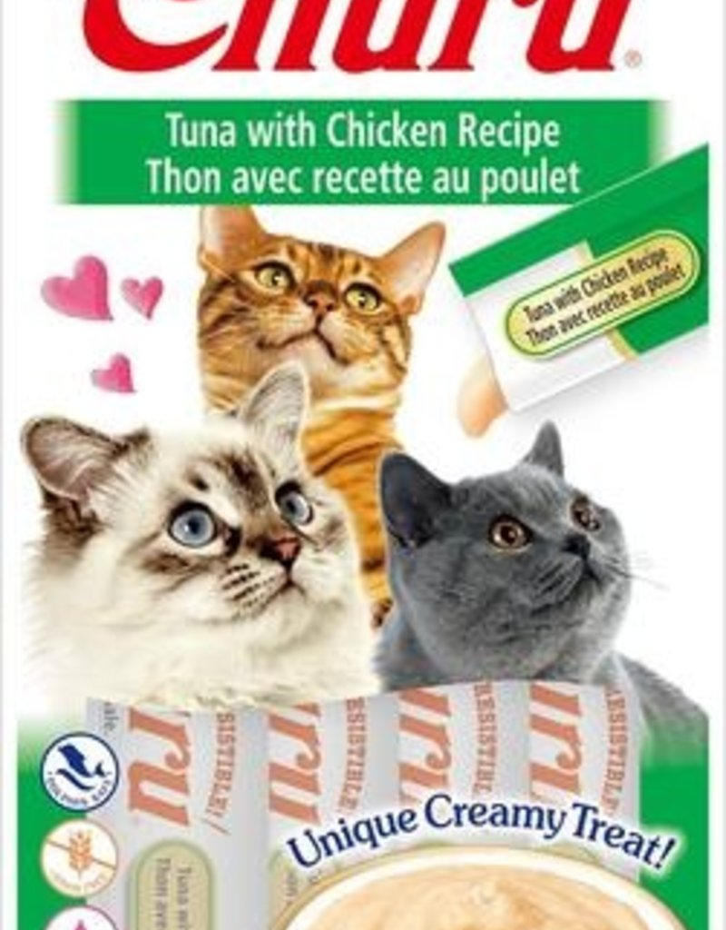Ciao Ciao Churu Tuna with Chicken Puree Cat Treats 2oz
