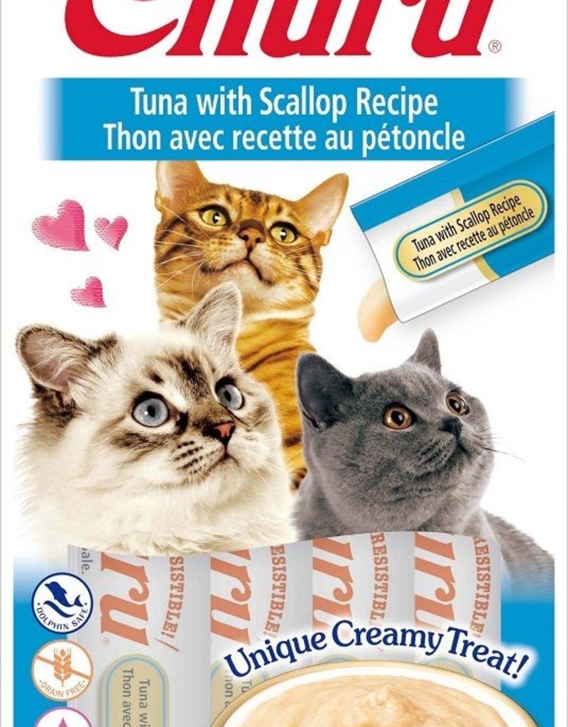 Ciao Ciao Churu Tuna & Scallop Cat Puree Treats 2oz